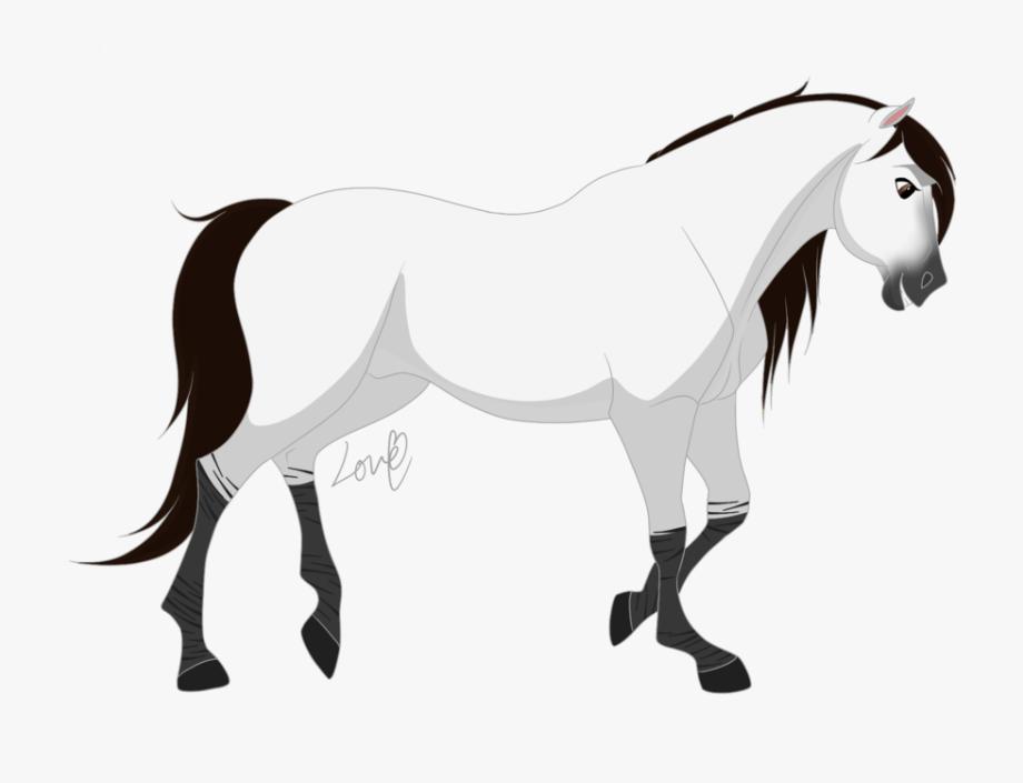 Drawing Mustang Animal.