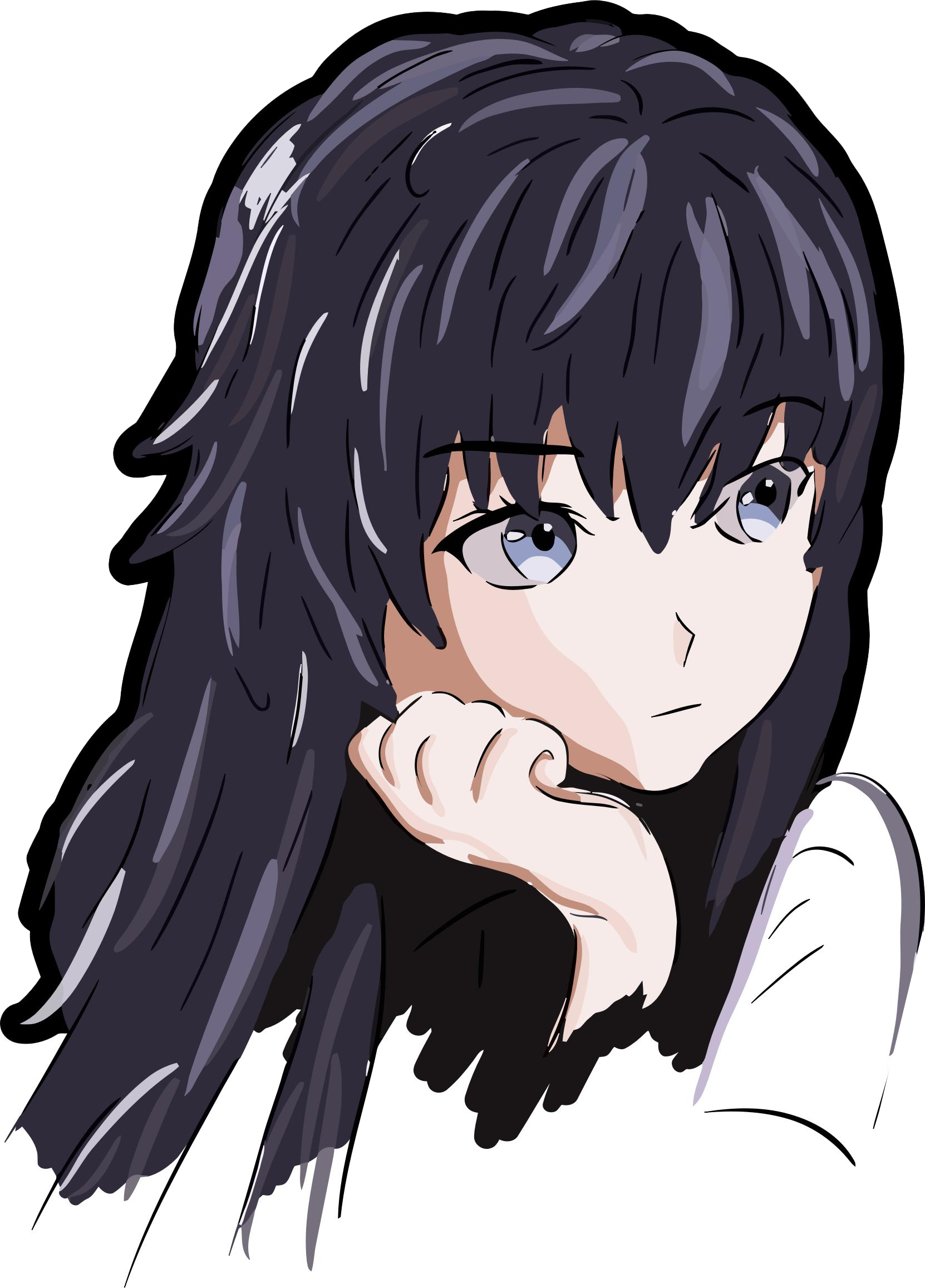 Anime Girl Icon Png.