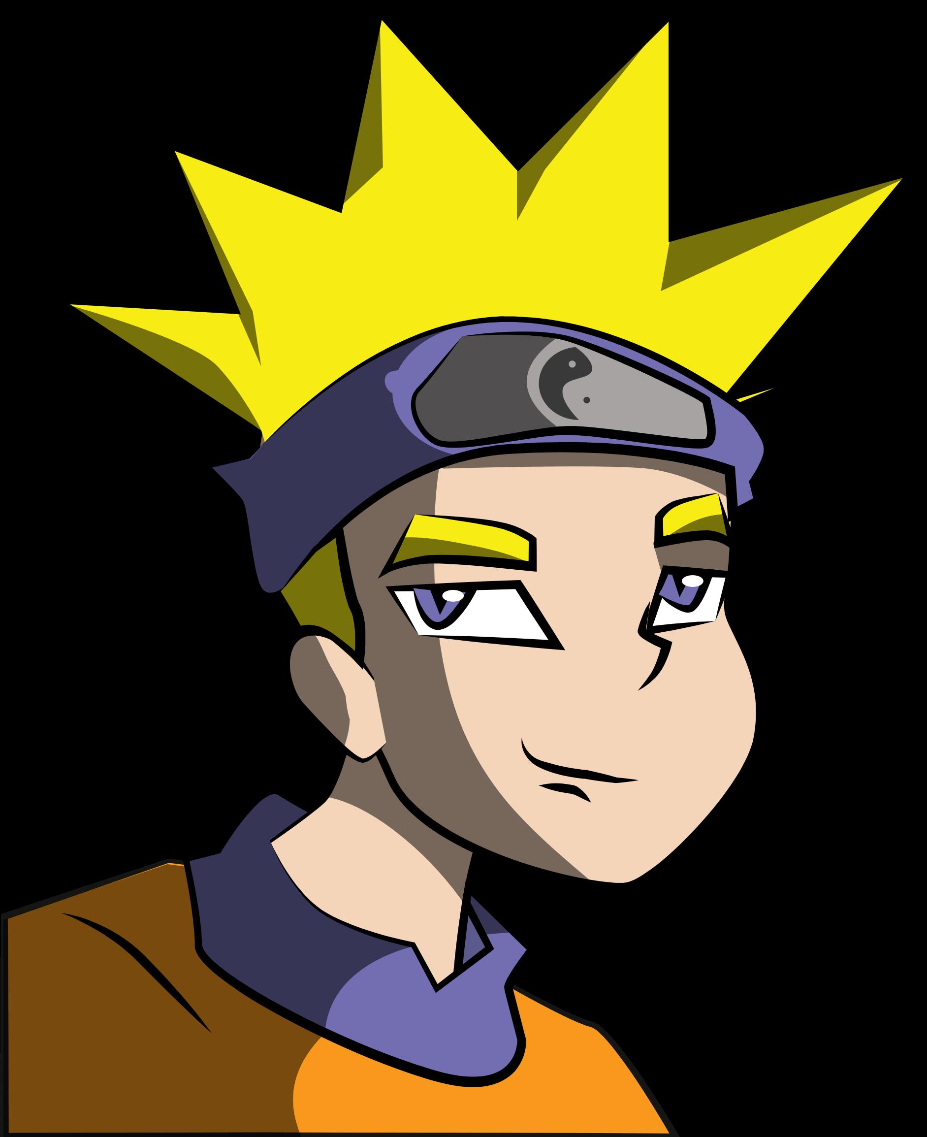 Anime Clipart Boy.