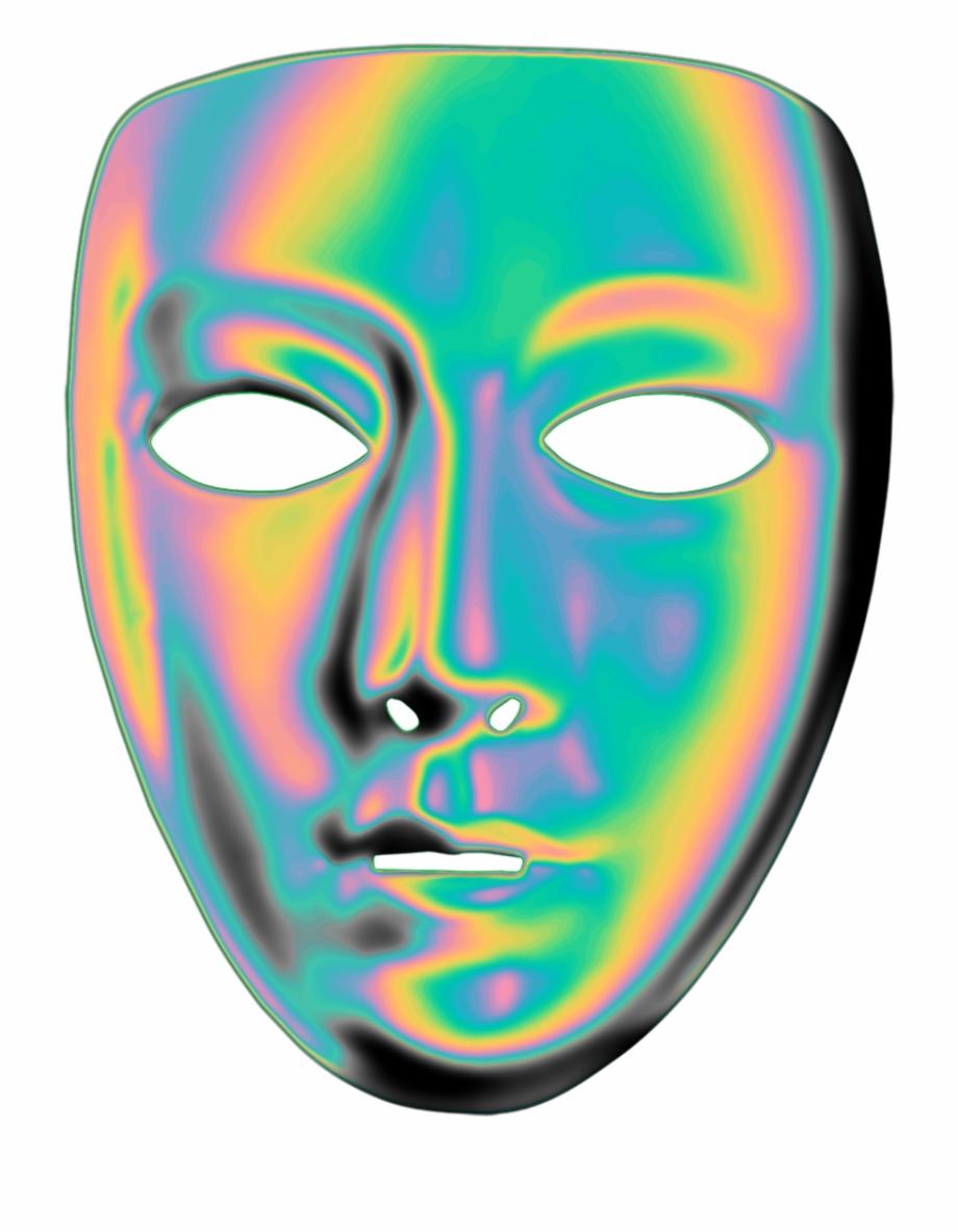 Tumblr Transparent Mask Monochrome Aesthetic Anime Aesthetic.