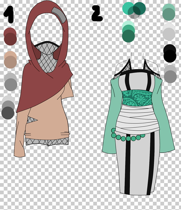 Naruto Drawing Clothing Anime, outfit PNG clipart.