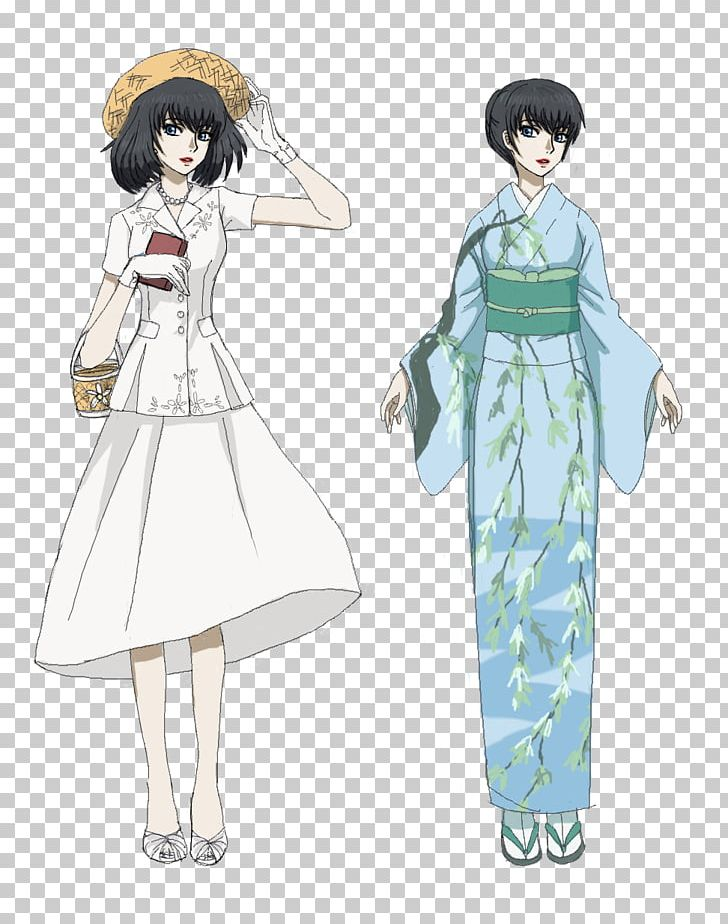 Kimono Mangaka Dress Anime PNG, Clipart, Anime, Clothing.