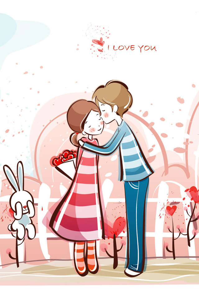Free Cartoon Couples Kissing, Download Free Clip Art, Free.