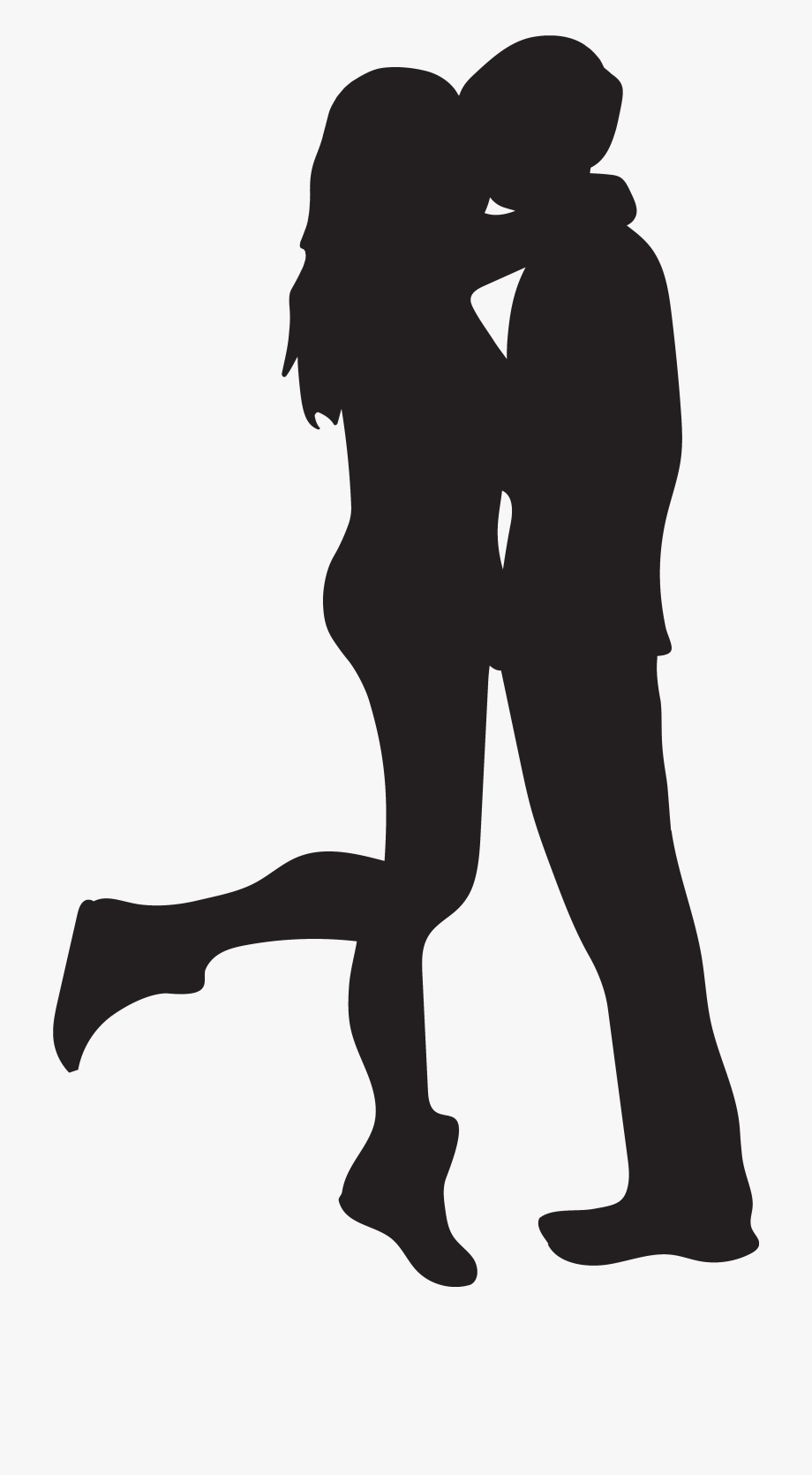 Hd Couple Kiss Clipart.