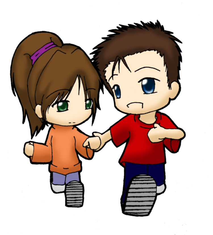 Anime Couples Clipart.