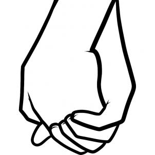 Showing post & media for Cartoon hands holding hands.
