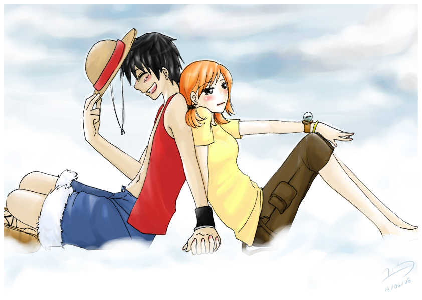 Anime Couples Holding Hands Clipart.