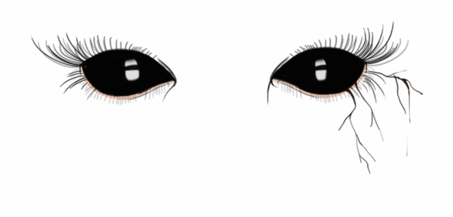 Eyes Black Dark Black Demon Eyes Png.