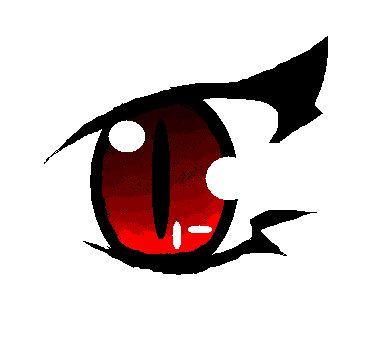 anime demon eye.