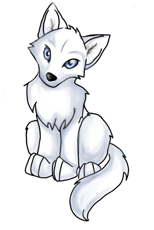 Anime easy alpha wolf clipart clipart images gallery for.