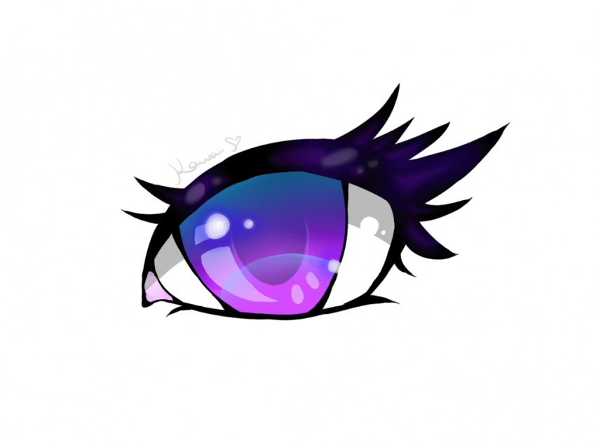 Anime Eyes Png, Png Collections At Sccpr #363270.