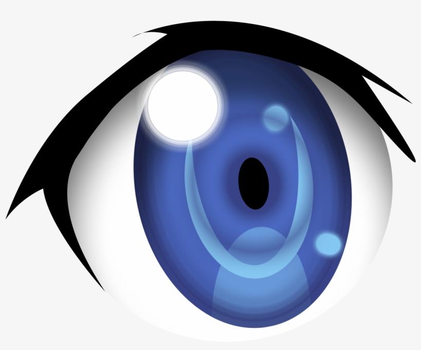 Blue Eyes Clipart Anime Eye.