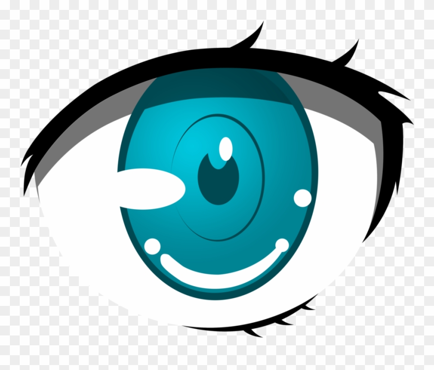 Anime Clipart Cartoon Eyes Png Animated Blue Cartoon Transparent Png.