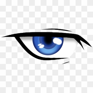 Anime Eyes PNG Transparent For Free Download.