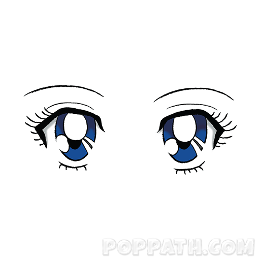 Anime Eyes Png & Free Anime Eyes.png Transparent Images #28372.
