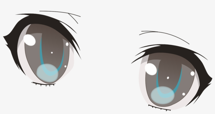 Evil Anime Eyes Png.