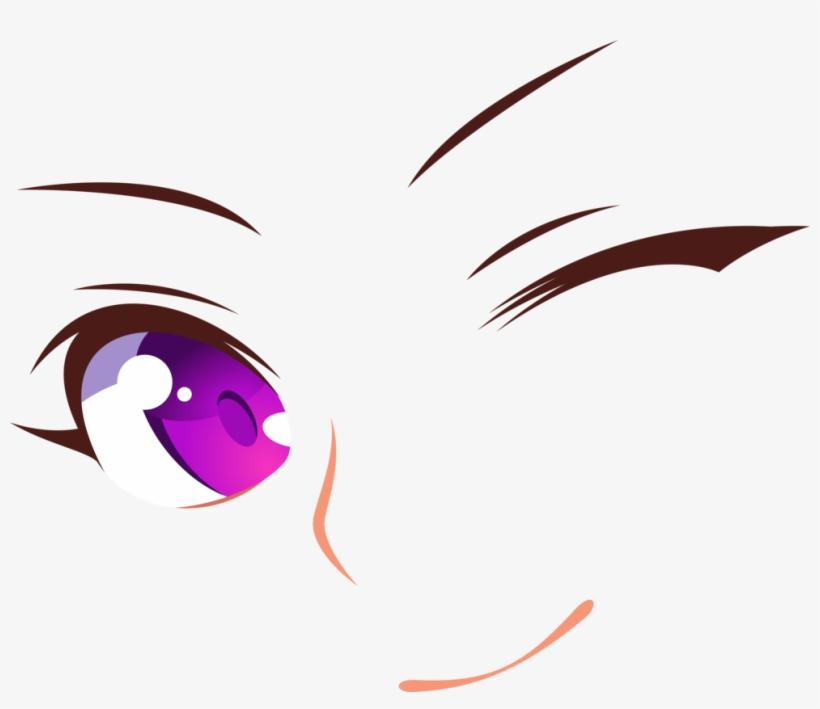 Anime Girl Eyes Png.