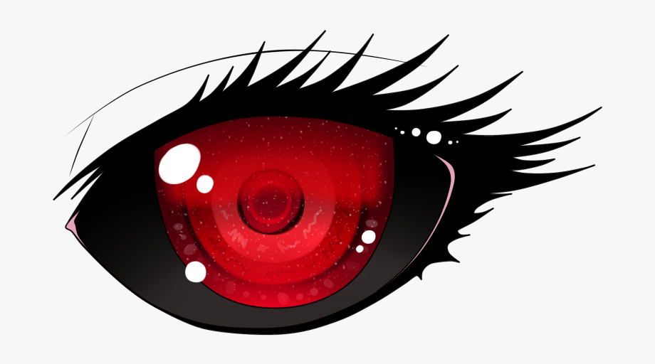 Anime Eyes Png Red.