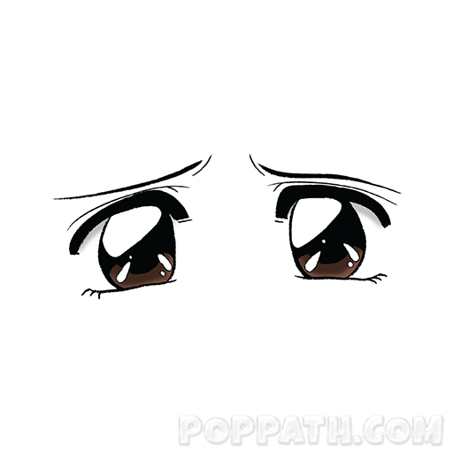 Cute Anime Eyes Png (102+ Images In Coll #481113.