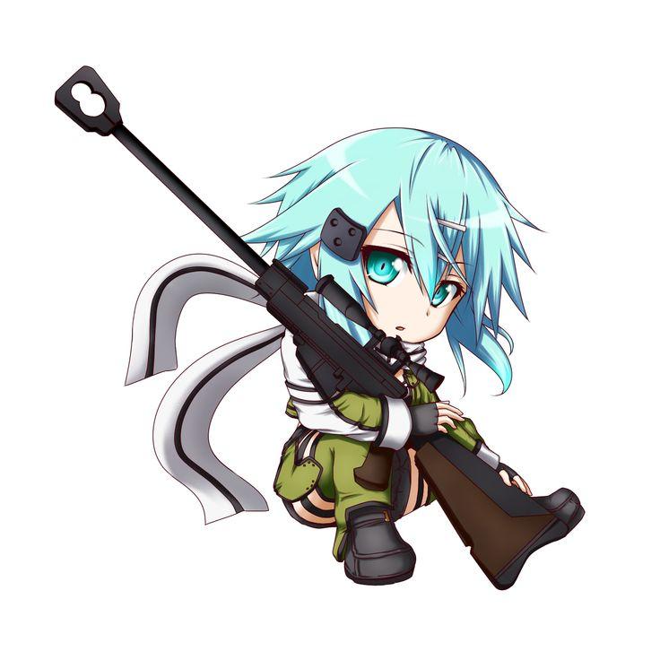 Anime clipart sniper, Anime sniper Transparent FREE for.