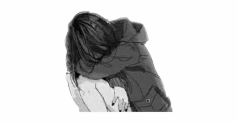 Aesthetic Anime Girl Crying.