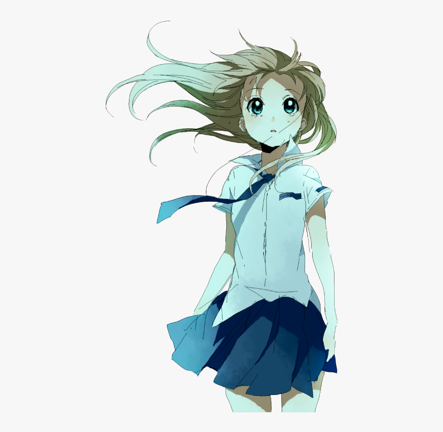 Crying Anime Girl Png , Free Transparent Clipart.