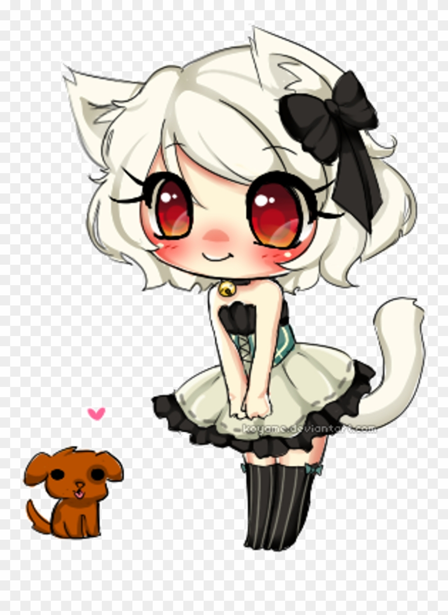 Kawaii Maid Cat Neko Anime Animegirl Animeneko Puppy.