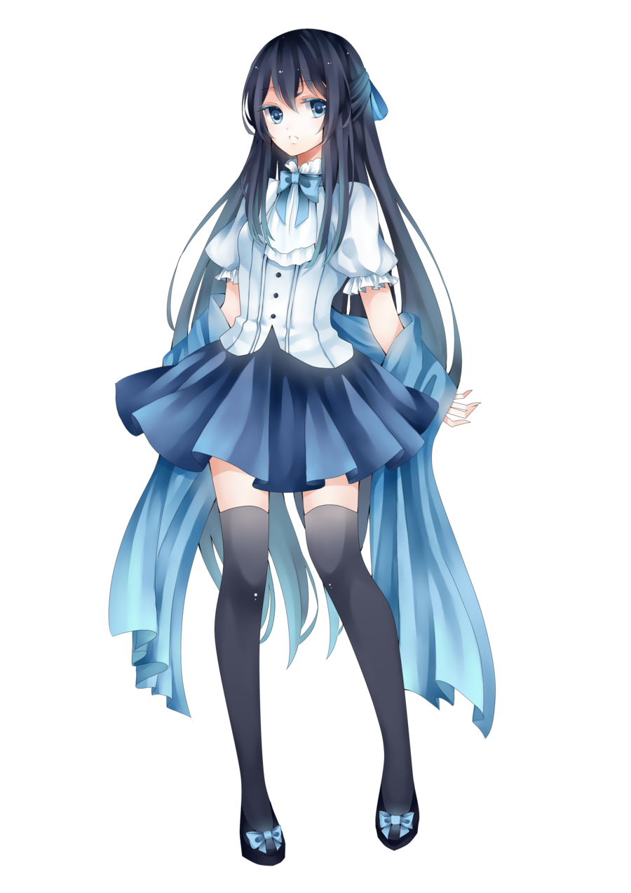 Anime Girl Png Images Transparent Background copy.