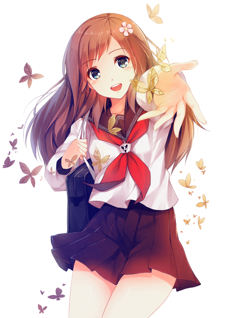 Anime Girl PNG Images Transparent Free Download.