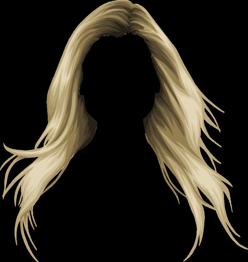 Hair Clip art.