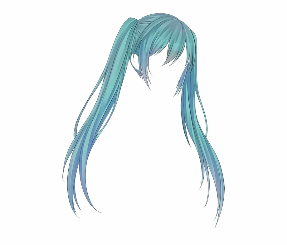 Hair Anime Png.