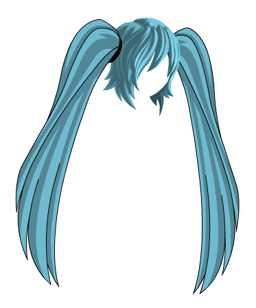 Anime Hair PNG Transparent Anime Hair.PNG Images..