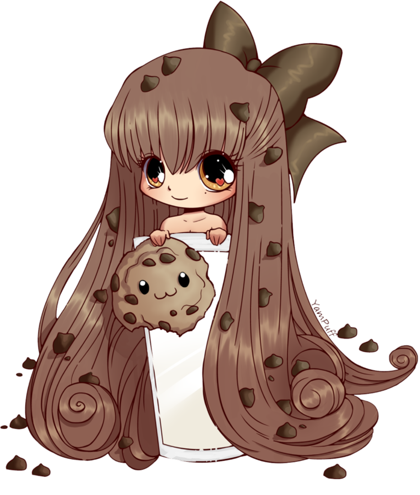 Colorido Lineart: CookieGirl por Sliver.