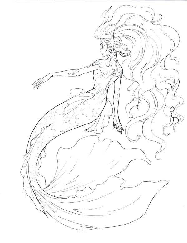 17 Best ideas about Mermaid Drawings on Pinterest.