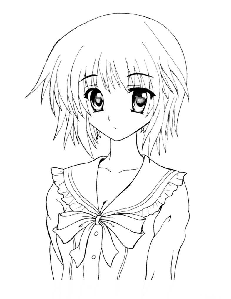 How to Color Anime [Tutorial Lineart] w/Download by UnmaskArt on.