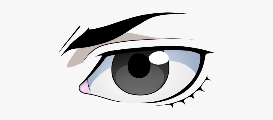 Anime Eyes Png Male.