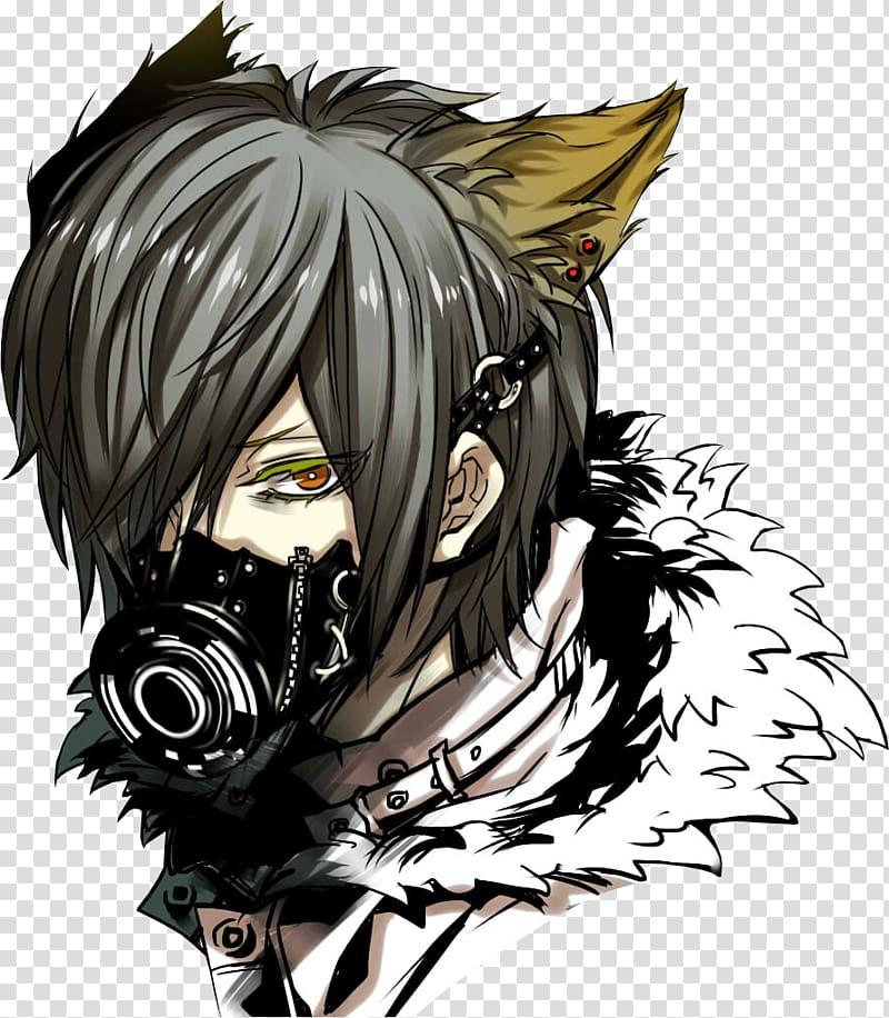 Anime Mask Manga Koga, anime boy transparent background PNG.