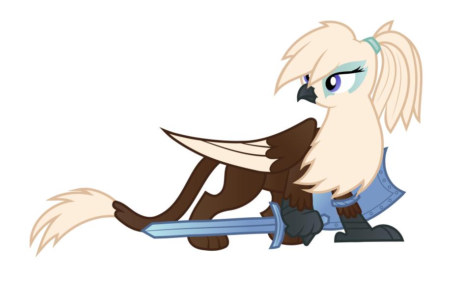 Transparent Ponytail Clipart.