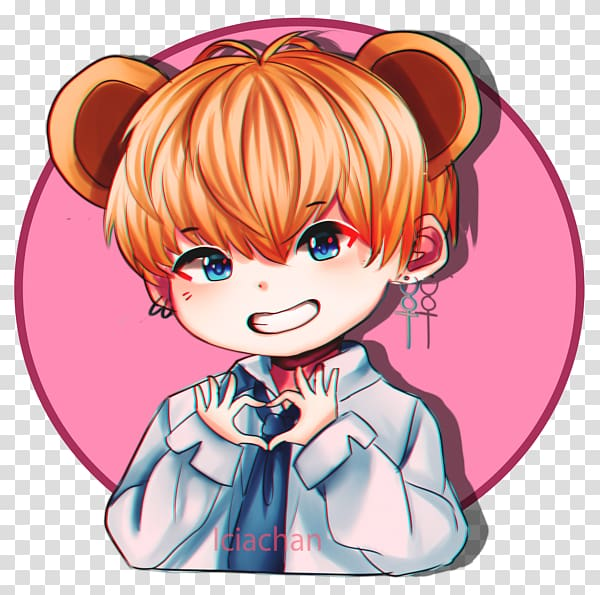 BTS Sticker Anime K.