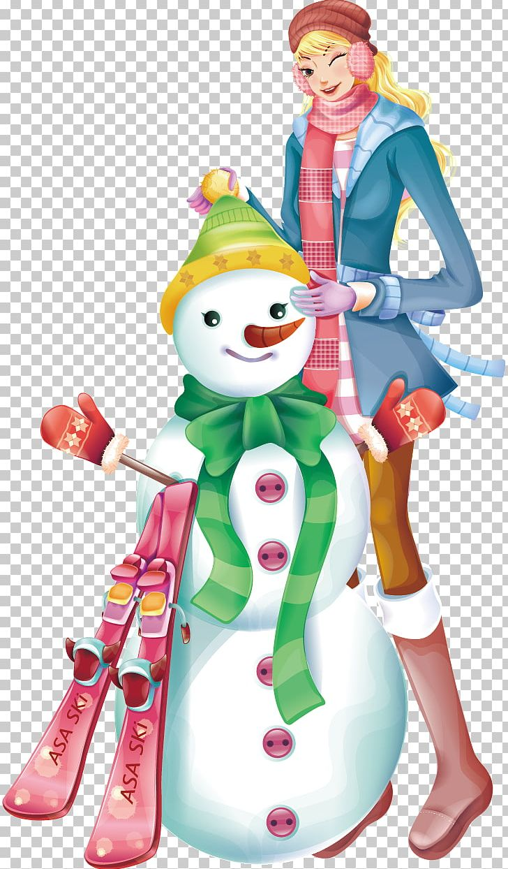 Snowman Winter PNG, Clipart, Anime , Cartoon Character.