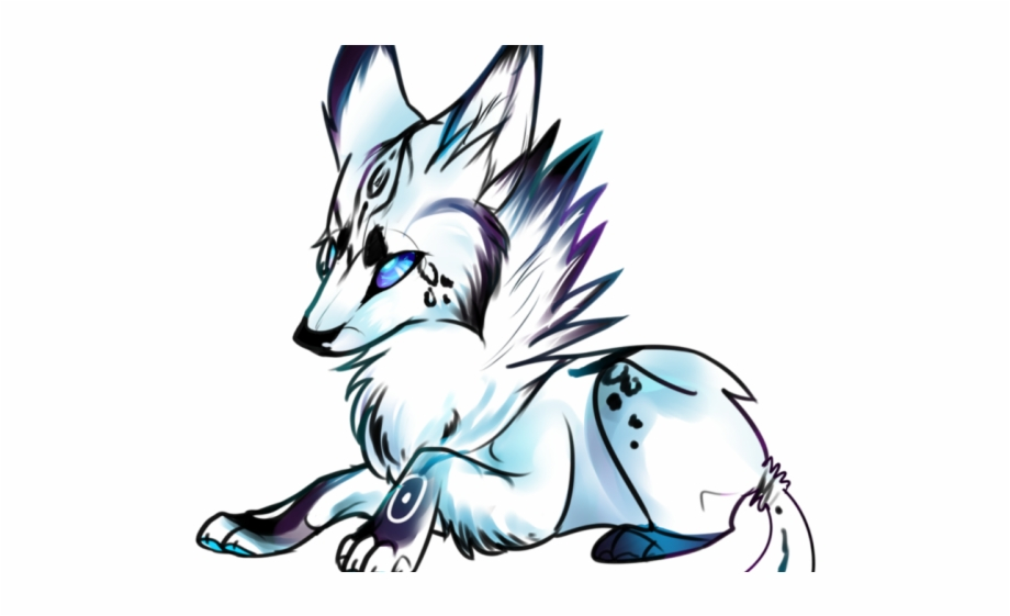 Animated Wolf Clipart.