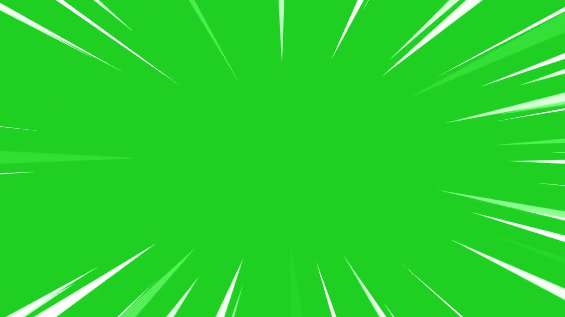 Anime Zoom Greenscreen.