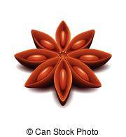 Star anise Vector Clipart Royalty Free. 540 Star anise clip art.