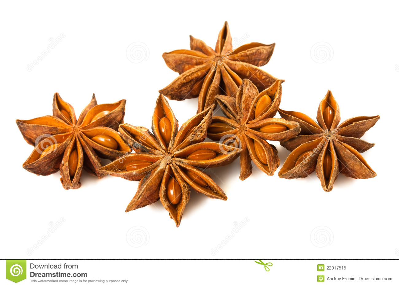 Anise Stars Royalty Free Stock Photo.