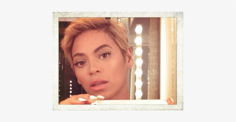 080813 Shows 106 Park Beyonce Short Hair Cut.