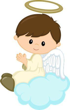 Resultado de imagem para anjinhos para batizado menina.