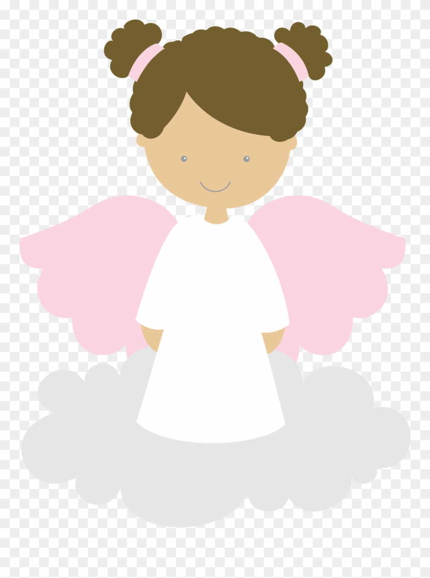 Angel First Communion Girl Clip Art.
