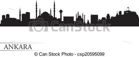 Ankara skyline Vector Clipart Illustrations. 56 Ankara skyline.
