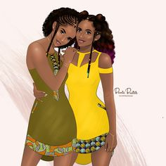 14 Best Ankara fashion and style illustrations images.