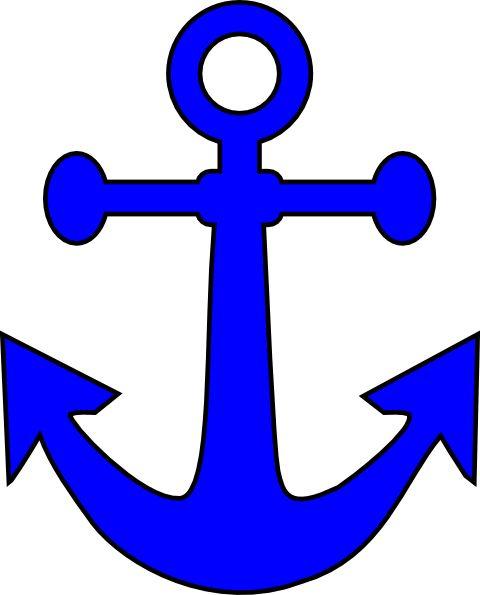 Ship anchor clipart #5